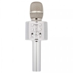 BK3 Cool sound KTV microphone (серебристый)/караоке микрофон Hoco