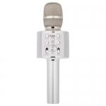 BK3 Cool sound KTV microphone (серебристый)/караоке микрофон Hoco