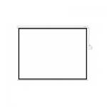 Экран моторизированный (с пультом Д/У), Deluxe, DLS-ERC221x121W, Настенный/потолочный, Рабочая поверхность 213x113, 16:9, Matt white, Белый