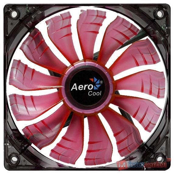 Кулер AeroCool Air Force Red Edition 14 cm
