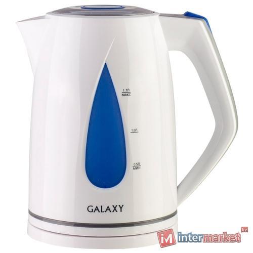 Чайник Galaxy GL0201, голубой