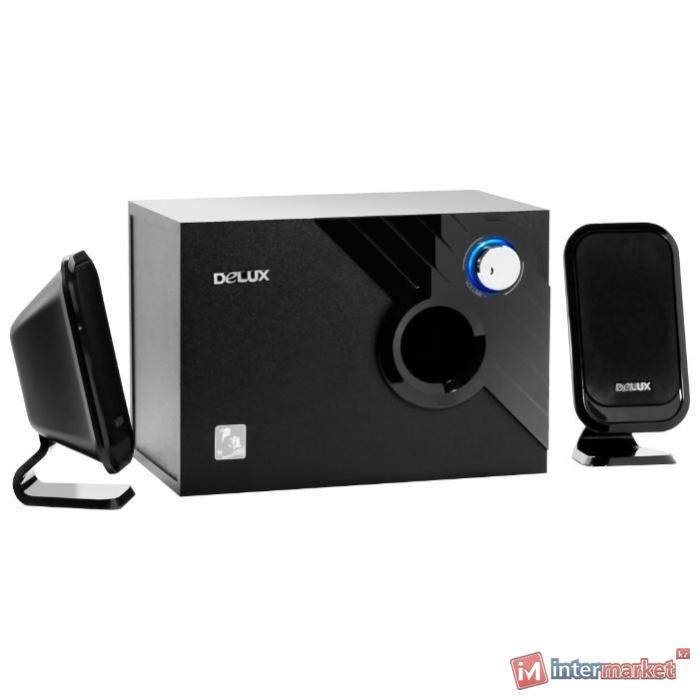Колонки 2.1 Delux DLS-X506 Black
