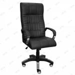 Кресло для офиса Плутон Zeta эко-кожа черный