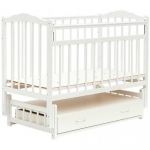 Кровать детская Bambini Классик M 01.10.10 Белый
