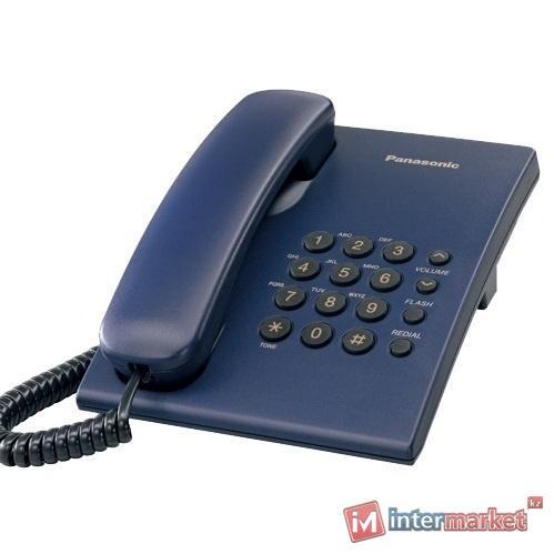 Телефон Panasonic KX-TS2350 (синий)