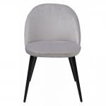 MC UDC5186 (Jazz) стул велюр серый шелк