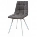 MC UDC8025 (Chilli Square) RU-07 стул серая сталь/белый