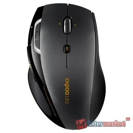Мышь Rapoo Wireless Laser Mouse 7800P Black USB