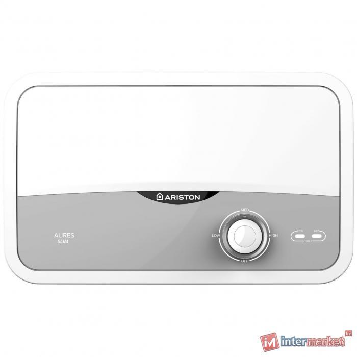 Проточный электрический водонагреватель  Ariston Aures S 3.5 COM PL